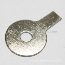 High quality steel nickel plated special shaped flat washer used for Refrigerator electric heater / heating appliance