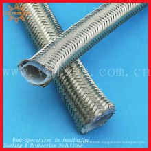 Outer stainless steel braid teflon tubing