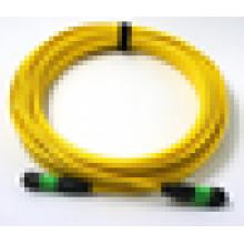 GR 326 aprovação mpo / mpt fibra óptica cabo de remendo, multimodo cabo de fibra óptica