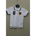 Boy's 100% Cotton Knitted Embroider Polo for World Cup