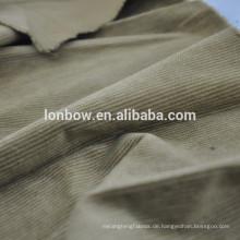 Große Auswahl gewebter Farbstoff sauber getufteter Samtstoff für Kleidung