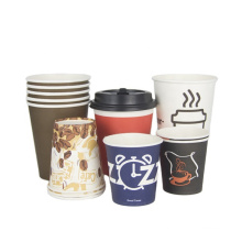 8oz 10oz 12oz 16oz 20oz paper cup customized directly sale  for wholesale single double ripple wall