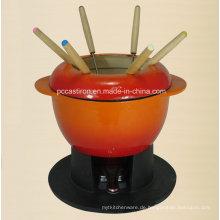 Enamel Gusseisen Kochgeschirr Hersteller aus China Fondue