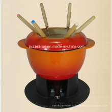 Эмалированная чугунная посуда Производитель из Китая Fondue
