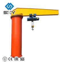 Grue à flèche pivotante à 360 degrés facile à utiliser