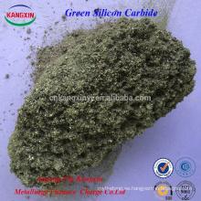 Fabrique carburo de silicio verde de alta pureza para la fabricación de acero