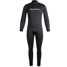 Trajes de neopreno Seaskin Freediving Back Zipper One Piece Neoprene