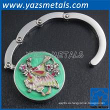 percha de metal plegable para mesa