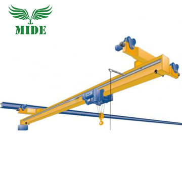 LX electric single crossed suspension crane