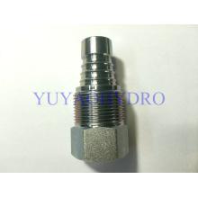 Carcaça para uso geral e industrial Aço Conexão de rosca fêmea hidráulica DIN