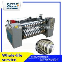 Rolamento Jumbo BOPP, PVC, Pet, PE Rebobinador Slitter Roll Roller