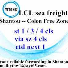Shantou International Ocean Freight TO Colon Free Zone
