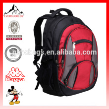 Sacs à dos rouges durables de sac à dos de polyester avec le compartiment d'ordinateur portable