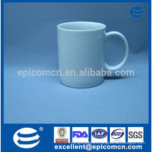 factory whole sale ceramic coffee mug with gold strips