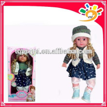 Nette Funktion sprechen Baby Mädchen Puppe intelligente Puppe Dialog Puppe