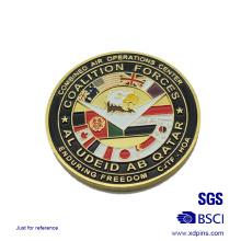 Металлические американских войск монет эмаль сувенир для продажи