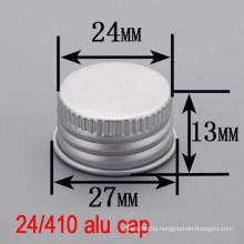 24mm Aluminium Screw Bottle Top Round Lid/Cover/Cap for Cosmetic