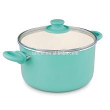 Ceramic easy cleaning aluminum pot