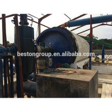 Extrato avançado de óleo de resíduos médicos para equipamentos de óleo com certificação CE