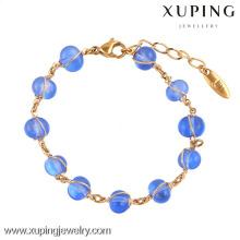 74295 Xuping 18k plaqué or gros bracelets de cuivre pour les femmes