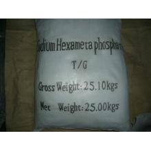 Hexametafosfato de sodio como suavizador de agua, inhibidor