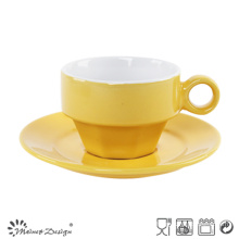 Shinning Glazing Color Cup&Saucer