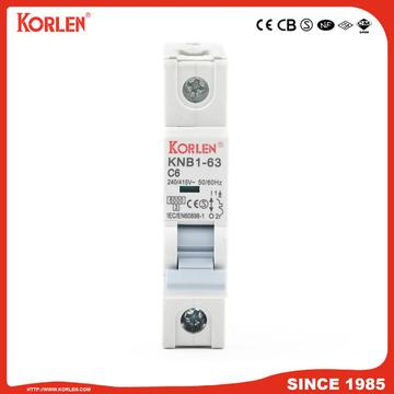 Miniature Circuit Breaker 4.5KA 63A 3P με CB