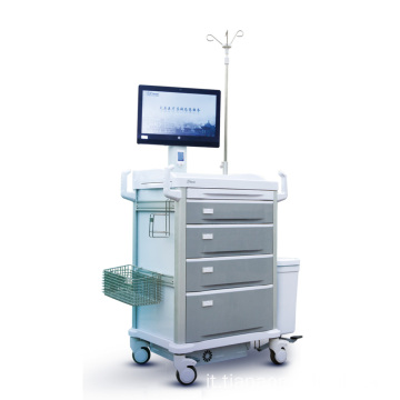 Workstation per infermiere mobile ABS intelligente Tianao Hospital