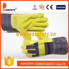 Gold Supplier China Cotton Work Safety Garden Gloves
