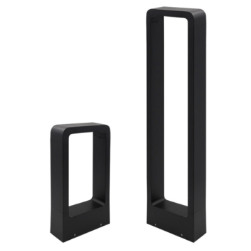 Exterior Metal Led Bollard Light Fixtures