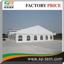 300 Menschen sitzen 18x25m Aluminium Zelte Hochzeit im Freien geschwungenes Zelt in Guangzhou