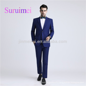 blue men suits 2017 and pants new arrivals for men formal occasion cheap price in China