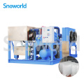 Bloc de glace Snoworld faisant la machine commerciale