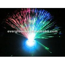 color changing fiber optic led light flower
