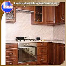 Gabinetes de cocina de madera maciza americana del polímero (precio competitivo)