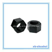 Hex Nut A194 2h 2-3/4-4 Black
