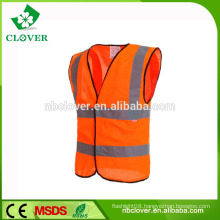 S-5XL or customized high visibility safety police reflective vest
