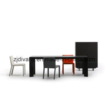 Maison de Style européenne Table en bois meubles (E-28)