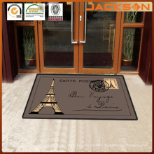 Hotel Entrance Embossing Logo Printed Commercial Carpet