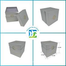 Custom Design Gold Logo Cardboard Candle Box