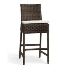 Cadeira de tamborete de Bar ao ar livre do Rattan móveis de jardim de vime da resina