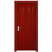 simple design of wood door