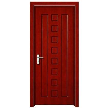 projeto simples de porta de madeira