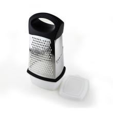 Gadgets de cuisine 4 côtés râpe avec conteneur