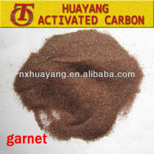 HY-JK2 30/60 mesh garnet for steel plates surface polishing