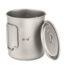 Folding Pure Titanium Water Cup
