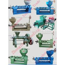 Sonnenblumenöl-Pressmaschine 6YL-165 mit Elektromotor oder Dieselmotor (Schneckenölpresse)
