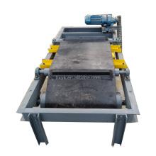 Self-discharging iron remover conveyor belt magnetic separator endless rubber conveyor belt