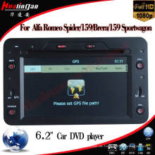Spezielle Auto DVD-Player für Alfa Romeo Spider / Alfa Romeo159 GPS Navigation (HL-8804GB)
