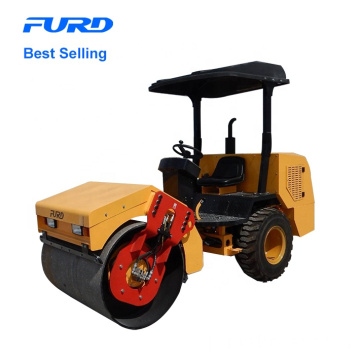 Single Steel Wheel Drum Vibratory Road Roller for Sale